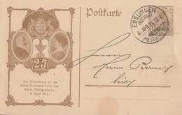 DR Privat-GS Minr.PP23 C14/01 Esslingen 6.4.11 - Briefe U. Dokumente