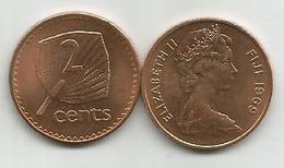 Fiji 2 Cents 1969. KM#28 UNC - Figi