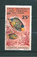 Timbres Des Cote De Somalis Timbre De 1966  PA N° 50  Oblitéré - French Somali Coast (1894-1967)