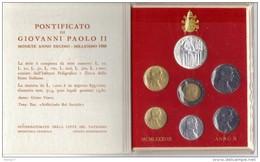 ZZ - CITTA' DEL VATICANO - Serie Divisionale 1988 - Giovanni Paolo II - Anno Di Pontificato X - Vaticano