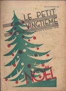 LE PETIT VINGTIEME 25 DECEMBRE 1930 TINTIN HERGE 2 P. QUICK ET FLUPKE 2 P. NOËL