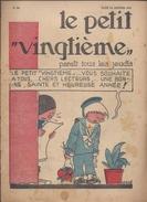LE PETIT VINGTIEME N° 52 1er JANVIER 1931 TINTIN HERGE 2 P. QUICK ET FLUPKE 2 P. BONNE ANNEE