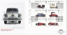Nederland - FDC 690 - Louwman Museum - Klassieke Auto's/Classic Cars - NVPH 3155-3164 - FDC