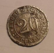 20 CENTESIMI DEL 1895 DEL REGNO D'ITALIA DI UMBERTO I° - - 1861-1946 : Royaume