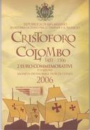 San Marino - 2006 -  2 Euro Cristoforo Colombo - F D C - San Marino