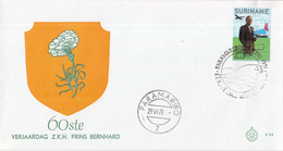 Suriname - FDC E84 - 60e Verjaardag Prins Bernhard - NVPH 564 - Suriname ... - 1975