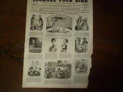 1855 Gravures: HOROSCOPE; Madame Ristori Au Théâtre; Les Filles De Marbre ,gravures Par Monta; Etc - Vieux Papiers