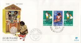 Suriname - FDC E58 - Kinderzegels, Spellen - NVPH 489 - Suriname ... - 1975