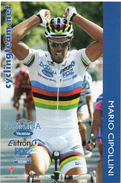 CYCLISME.  Carte De Mario CIPOLLINI  En Champion  Du Monde  . - Cycling