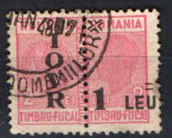 ROMANIA - 1947 - SEGNATASSE - USATO - Impuestos