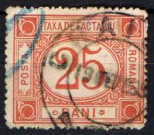 ROMANIA - 1898 - PACCHI POSTALI - USATO - Parcel Post