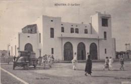 Morocco Kenitra La Gare Railroad Station 1943