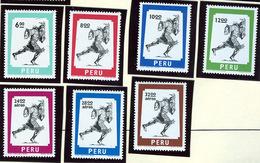 1977 - PERU  - Mi. Nr. 1055/1061 - NH - (CW2427.30) - Peru