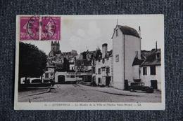 Quimperlé - Le Moulin De La Ville Et L'Eglise ST MICHEL - Quimperlé