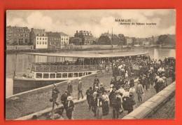 IBL-15 Namur, Arrivée Du  Bâteau Touriste.   Cachet 1912 Pour Antoing. - Namen