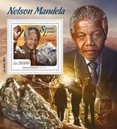 SIERRA LEONE 2015 SHEET NELSON MANDELA NOBEL PRIZE Srl15712b - Sierra Leone (1961-...)
