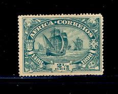 ! ! Portuguese Africa - 1898 Vasco Gama 2 1/2 R - Af. 01 - MH - Portuguese Africa