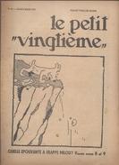 LE PETIT VINGTIEME N° 10 5 MARS 1931 TINTIN HERGE 2 P. 2 P. QUICK ET FLUPKE