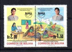 Serie Nº 987/8  Upaep  Bolivia - Bolivia