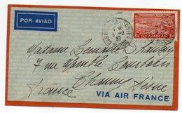 Maroc-1937--lettre De CASABLANCA-POSTES Pour CHAUNY-02 (France) Tp Seul Sur Lettre ...... à Saisir - Marokko (1891-1956)
