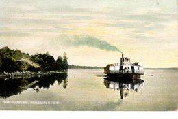 "NEWCASTLE, New Brunswick , Canada, Steamer ""The Rustler, 1907 McCoy Postcard"