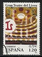 2001-ED. 3791-SERIE COMPLETA-GRAN TEATRO DEL LICEO.BARCELONA-USADO - 1931-Hoy: 2ª República - ... Juan Carlos I