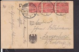 Deutsches Reich Dienstmarken Stempel Burgsteinfurt 1922 - Briefe U. Dokumente