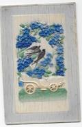 PORTUGAL- Postal De Relevo - Andorinhas Anúncio Da Primavera. - Uccelli