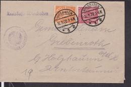 Deutsches Reich Dienstmarken Stempel Wiesbaden 1920 - Deutschland