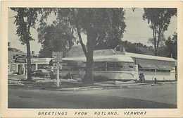 243783-Vermont, Lindholm's Diner, 1950 PM - Rutland