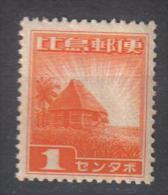 Z854A - FILIPPINE OCCUPAZIONE GIAPPONESE , 1 Cent N. 15  ***  MNH - Filippine