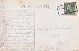 "U.S. POSTAL  HISTORY  BOXED  "" YUBA CITY, CAL. DPO  1915 - Brieven En Documenten"