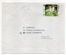 Liban--1971-lettre De BEYROUTH Pour St FLORENTIN (France)--cachets,timbre Seul  Sur Lettre - Liban