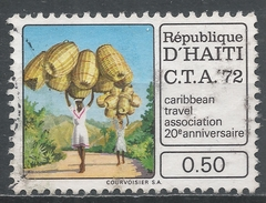 Haiti 1973. Scott #665 (U) Basket Vendors. 20th Anniv. Of Caribbean Travel Association * - Haïti
