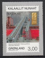 Greenland MNH 2015 3k Gold Mine, Nanortalik - Mining In Greenland - Minéraux