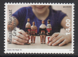 Greenland MNH 2015 14k Child Playing With Dolls - Old Toys - EUROPA - Groenland