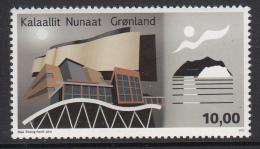 Greenland MNH 2015 10k Modern Buildings - Modern Greenlandic Architecture - Groenland