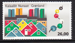 Greenland MNH 2015 26k Modern Colourful Houses - Modern Greenlandic Architecture - Groenland