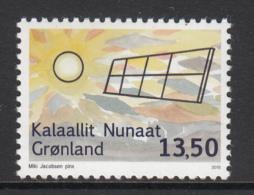 Greenland MNH 2015 13.50k Solar Panel - Renewable Energy In Greenland - Groenland