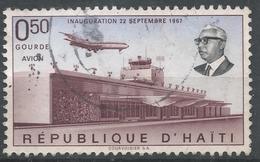 Haiti 1968. Scott #C306 (U) Front View Of Air Terminal * - Haïti