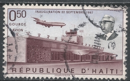 Haiti 1968. Scott #C306 (U) Front View Of Air Terminal - Haïti