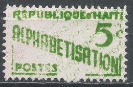 Haiti 1960. Scott #RA28 (MNH) Alphabetisation - Haïti