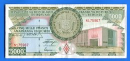 Burundi  5.000  Fr  5/2/1997 - Burundi