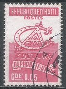 Haiti 1974. Scott #RA45 (U) Alphabetisation - Haïti