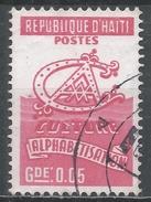 Haiti 1974. Scott #RA45 (U) Alphabetisation * - Haïti