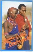 Calendar Calandrier Portugal 1992 Theme: Africa ( 2 Scans) - Calendari