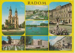AKPL Poland Pologne Polen Radom - Neo-Gothic Church - Palace - Park - Polyclinic - Polen