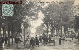 LORIENT LE COURS CHAZELLES ATTELAGE DE CHIEN ? ANIMEE 56 MORBIHAN - Lorient