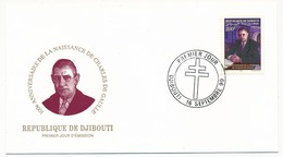 DJIBOUTI => FDC - 100eme Anniversaire Naissance Charles De Gaulle - 16 Septembre 1990 - De Gaulle (General)