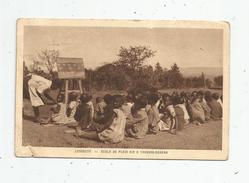Cp , LESOTHO , LESSOUTO , école De Plein Air à THABANA - MORENA , Voyagée , Ed : Braun - Lesotho